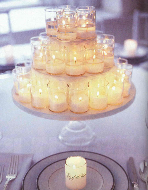 Centre pieces for your wedding can cost a lot You buy the vases stones