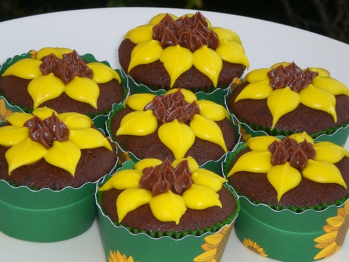 Great Sunflower Cupcake Decorating Ideas 500 x 375 · 113 kB · jpeg
