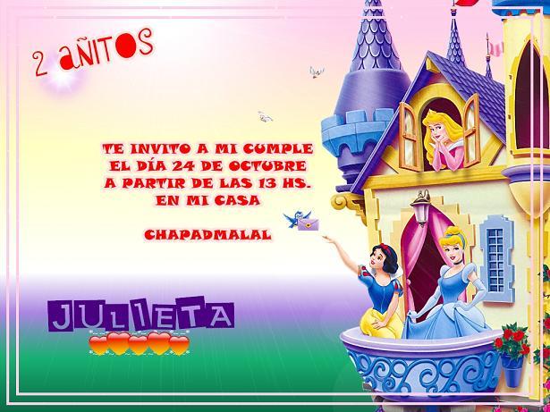 Jumaju Tarjetas e Invitaciones Infantiles: Invitaciones Infantiles ...