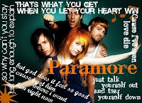 You know youre a Paramore  fan when... Your favorite quotes section on a