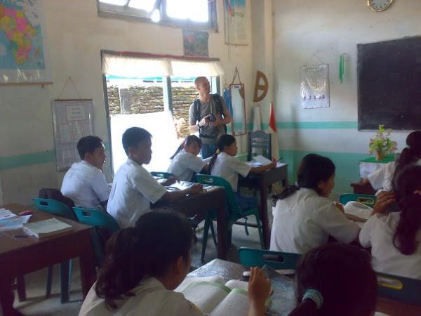 KunjugaN Mahasiswa / I AS Ke SMP NEGERI 1 SIBOLGA di CLASS BILINGUAL CLASS