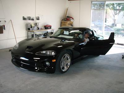 Dodge Viper bodywork by Almost Everything Autobody