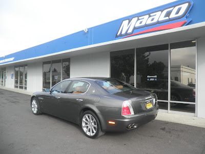 Maserati Quattroporte with Paint & Bodywork by Almost Everything Autobody