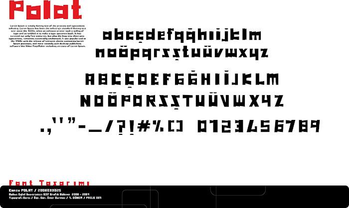 Font tasarımı