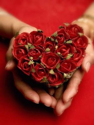 coeur-fleur-rose
