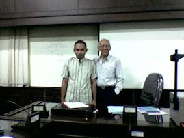 Abd. Azis H, SH, M.H  (Mhs. Termuda/27 th) bersama Prof. Dr. H. Koento Wibisono, SH.