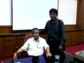 Penulis Bersama Begawan Sosiologi Hukum Indonesia Prof. H. Soetandyo W.