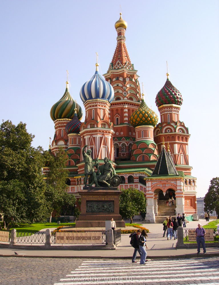 Фото собора Василия Блаженного - Лоцман Путешествий.