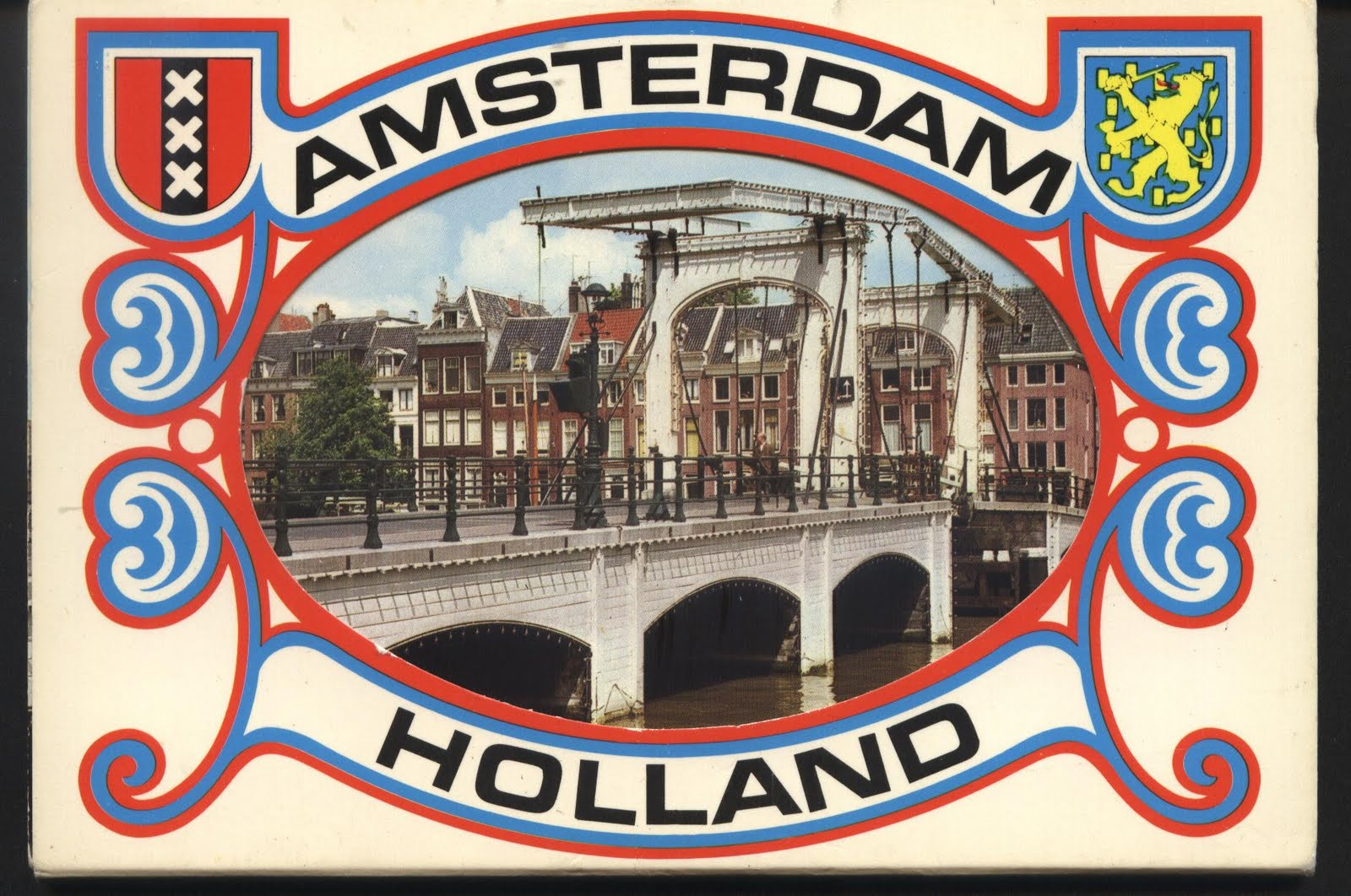 Omran elmajdoub postcards stamps covers and sheets greeting from greeting from amsterdam holland m4hsunfo