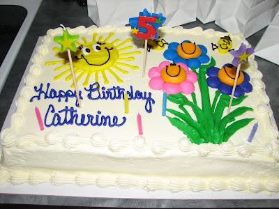 Birthday Cake With Name Catherine