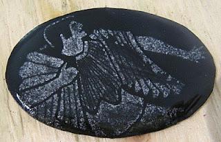 painted enamel Cassandra