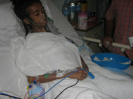 Marciela.  Scoliosis Operation in HUKM  January 2007