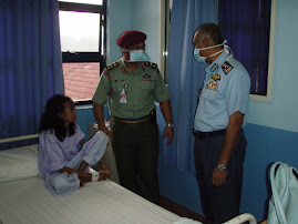 Marciela was isolated. She was treated for Tuberculosis in HUKM. October 2006