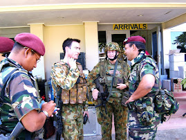 Malaysian Army just arrived in Dili Airport