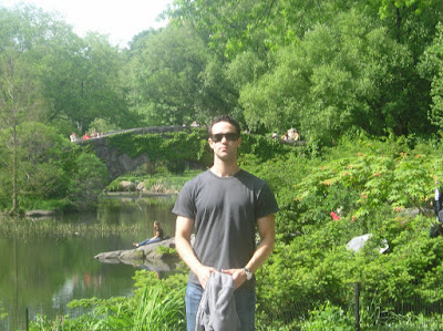JP in Central Park, New York spring