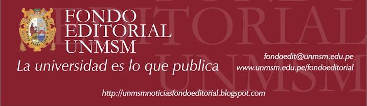 UNMSM - Noticias del Fondo Editorial
