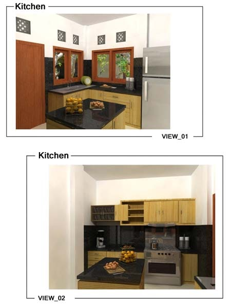Kitchet set desain for Pemasangan kitchen set