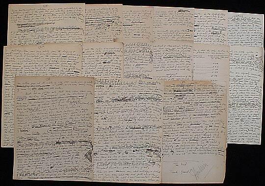 foto: Il perduto trattato 'contro l'astrologia' scritto per Houdini da Lovecraft