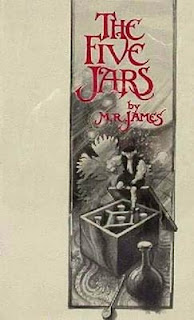 M.R. James, The Five Jars, 1922 copertina