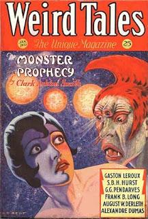 Weird Tales, gennaio 1932, copertina