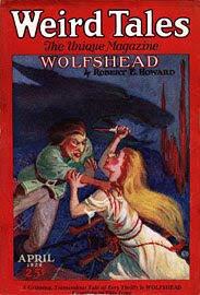 Weird Tales, aprile 1926, copertina
