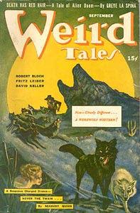 Weird Tales, settembre 1942, copertina