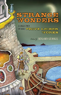 Strange Wonders: A Collection of Rare Fritz Leiber Works, 2010, copertina