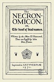 The Necronomicon nella versione di George Hay, 1978, copertina
