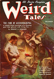 Weird Tales, dicembre 1936, copertina