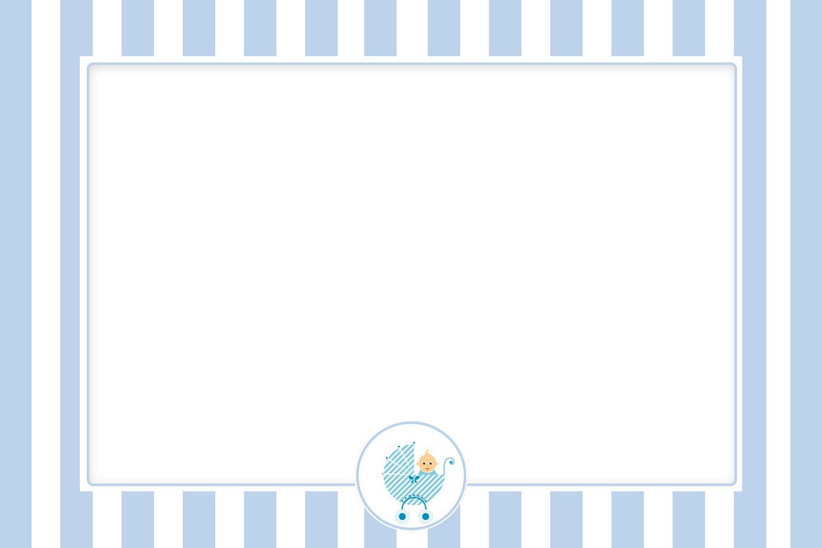 Invitaciones Para Baby Shower De Nino Gratis