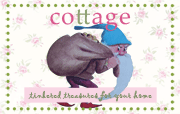 Click on the cottage button to visit one of my sweet blogging friends
