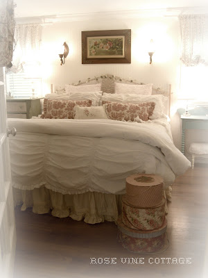 Rose Vine Cottage: New Shabby Chic Bedding!