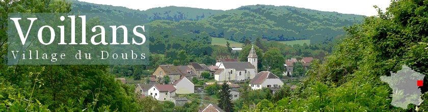 Voillans, village du Doubs, site officiel