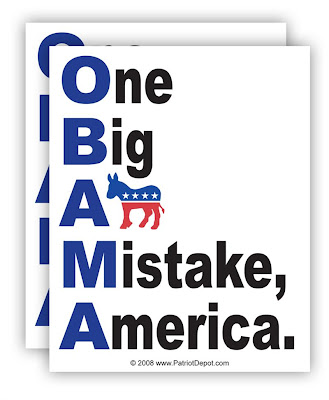 obama one big assed mistake