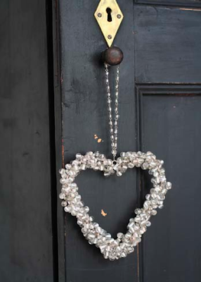 Beaded decorative heart by Attic