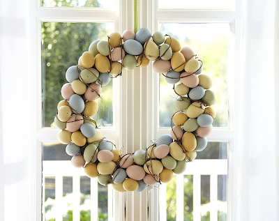 Easter Egg Wreath by Pottery Barn Kids