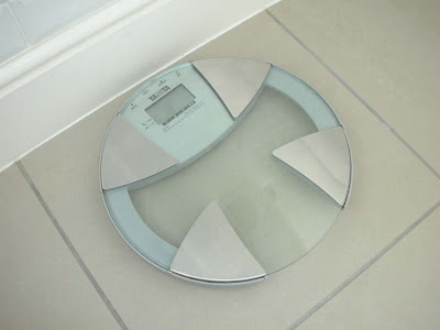 Bathroom scales from Tanita