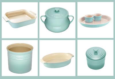 Le Creuset satin blue stoneware