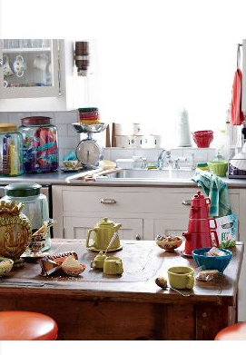 Kitchen at Anthropologie