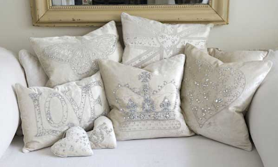 Cream diamante collection by Jan Constatine
