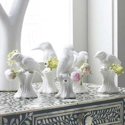 Bird vases from Graham & Green