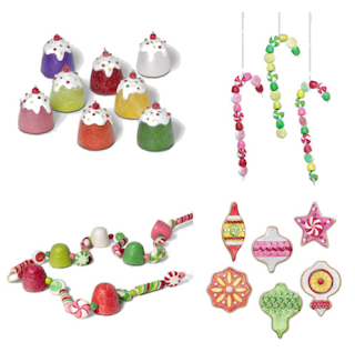 Christmas decorations by Department 56
