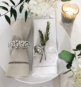 Christmas dining by The White Company