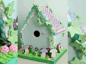 Woodland Gingerbread House by Torie Jayne