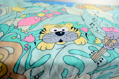 Jungle fabric by Torie Jayne