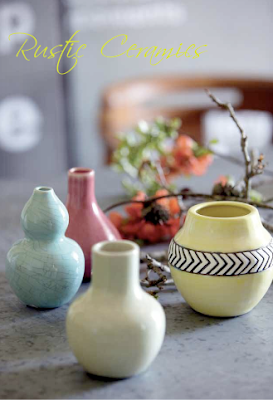 Ceramic vases by House Doctor