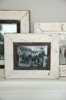 Distressed Wooden Photo Frame by Lavender Room