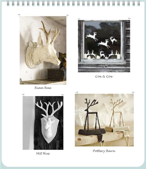 Deer Reindeer by Torie Jayne