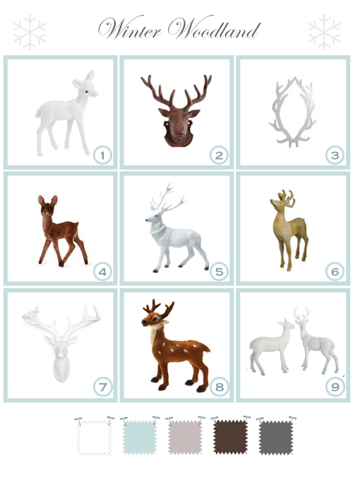 Decorative Reindeer by Torie Jayne
