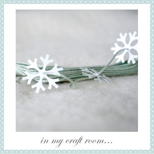 Snowflake Garland by Torie Jayne